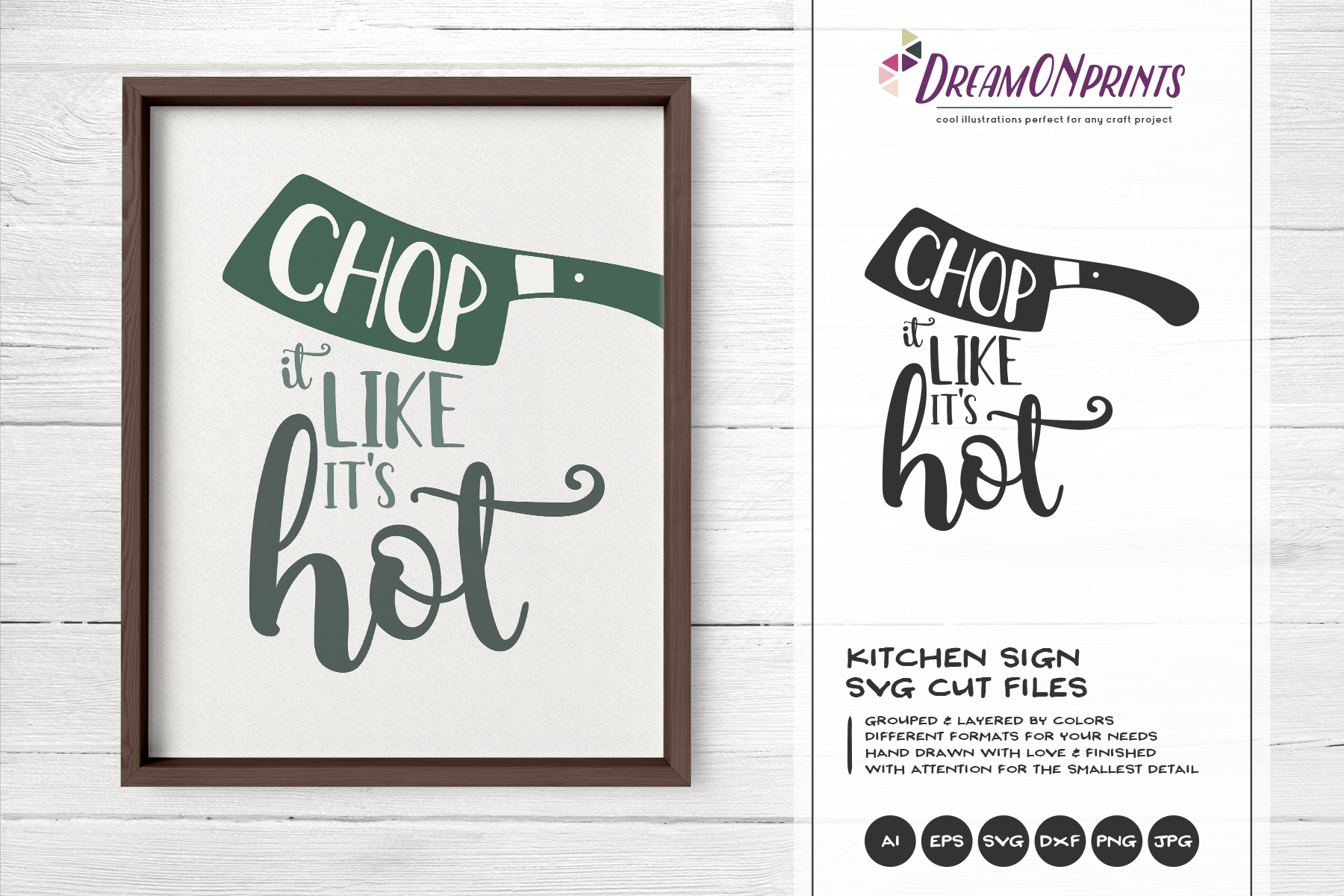 Kitchen SVG Bundle - Kitchen Sign Making SVG example image 8