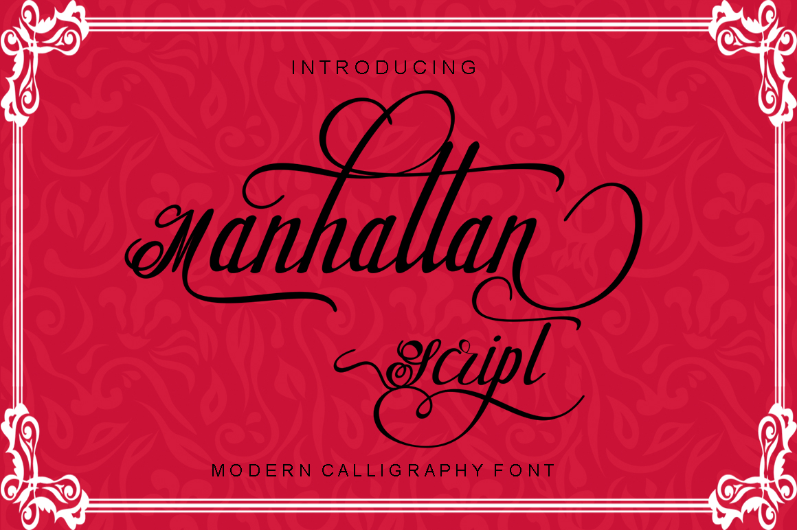 Manhattan Script example image 8