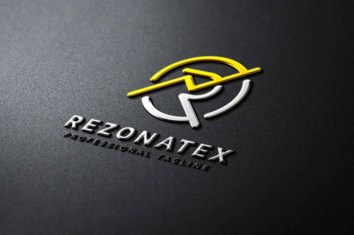Rezonatex R Letter Logo example image 5