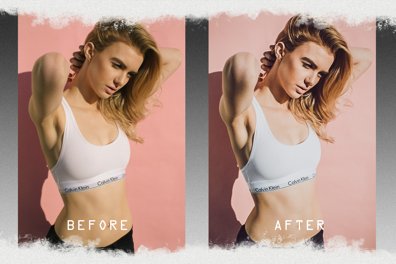 Nude presets for mobile and PC photo filter, photo effect example image 7