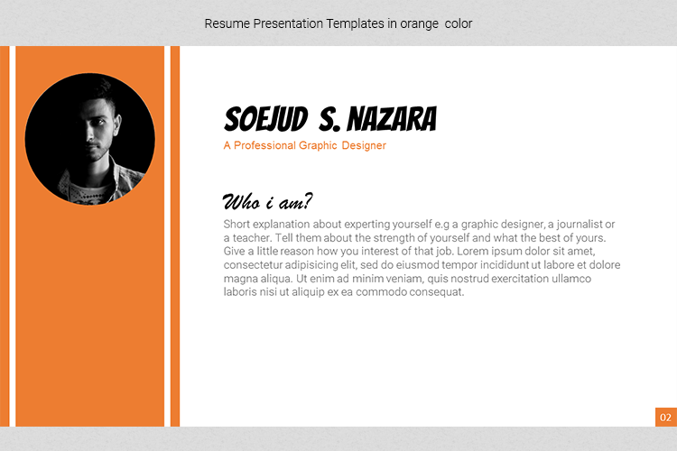 A4 Resume Templates Word example image 10