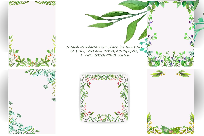 Wilde Herbs Watercolor Set example image 6