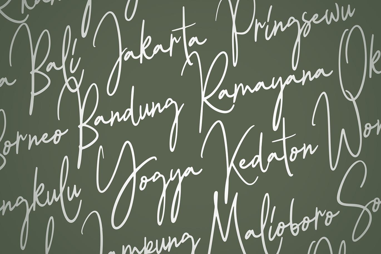 Balietan Signature Font example image 6