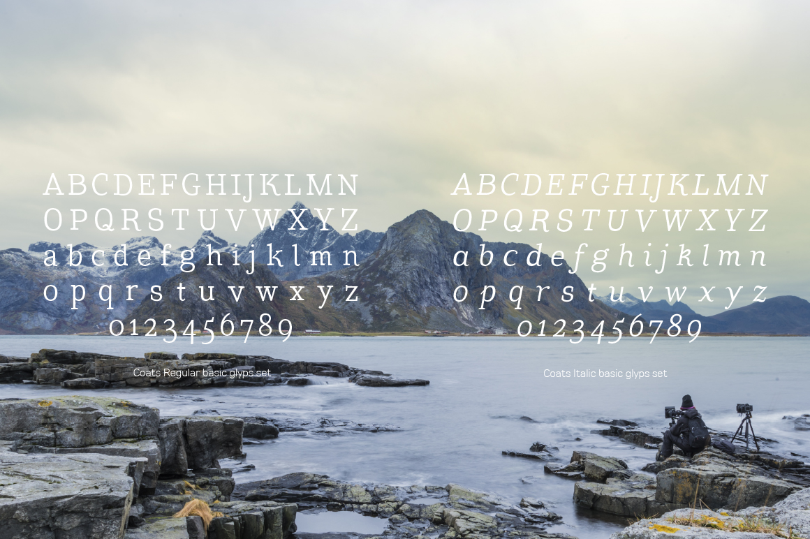 Coats Regular & Coats Italic example image 5