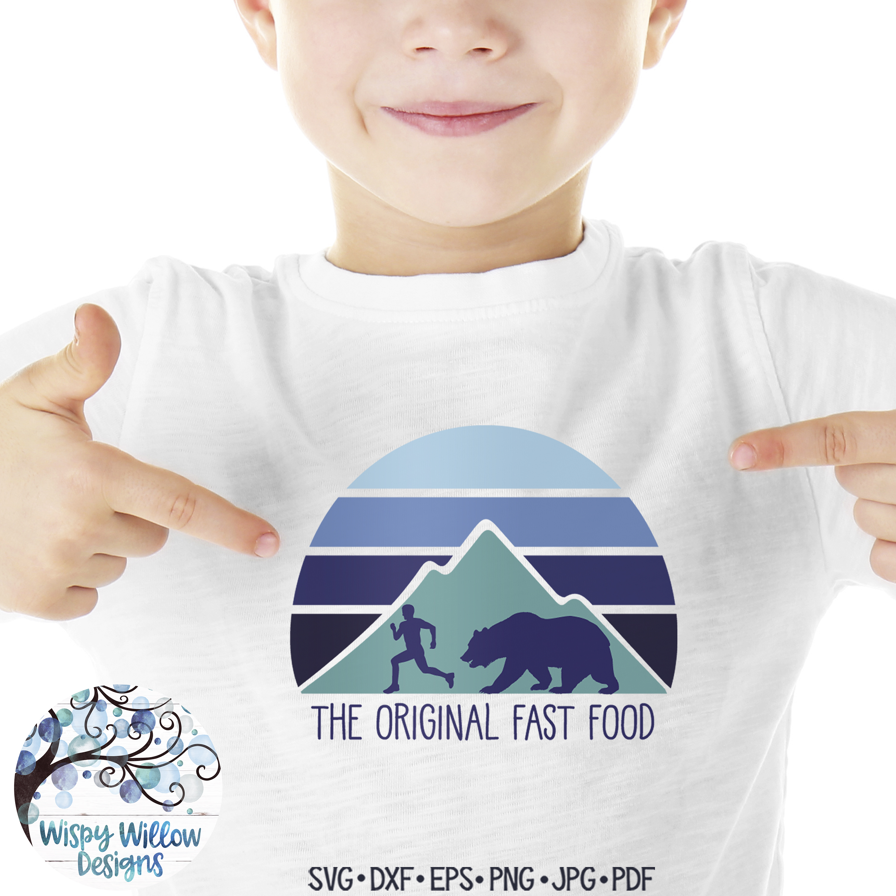 The Original Fast Food SVG   Funny Camping SVG Cut File example image 3