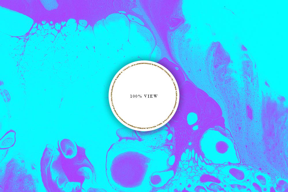 Neon Ink Backgrounds - Abstract Neon Liquid Digital Paper example image 4