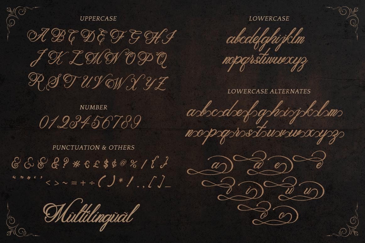 Metalurdo Calligraphy Font example image 8