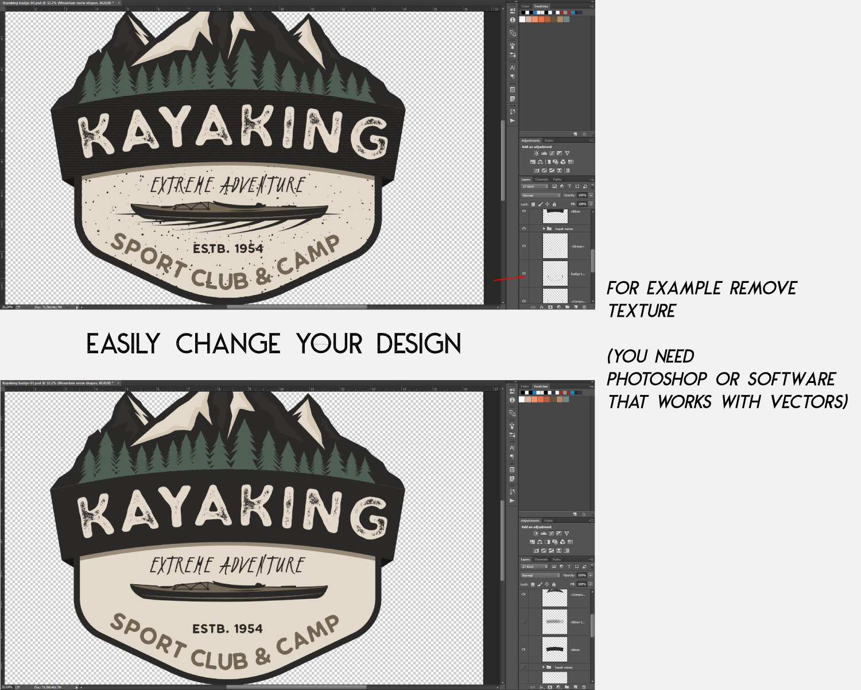 Download Kayak SVG Cut File, Adventure Digital, Mountain Camp Cut png