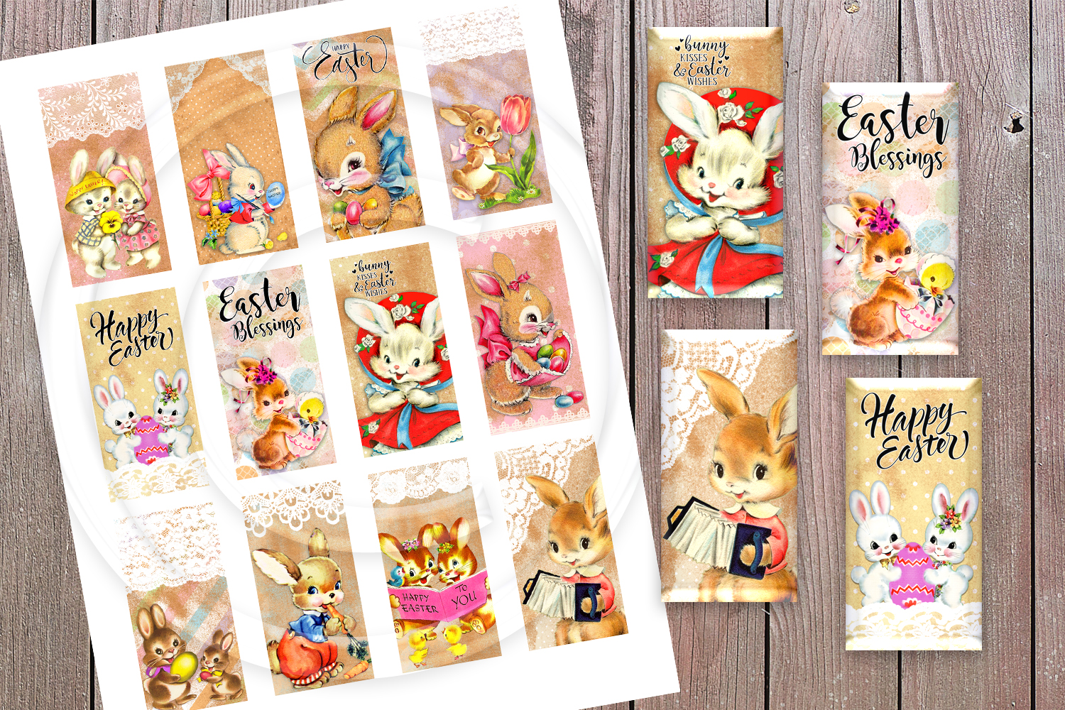 Easter Collage Sheet example image 1