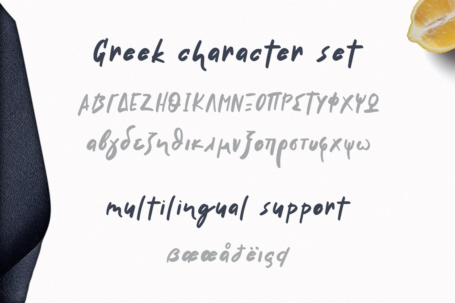 Handwritten Delicious Font Tavernaki example image 5