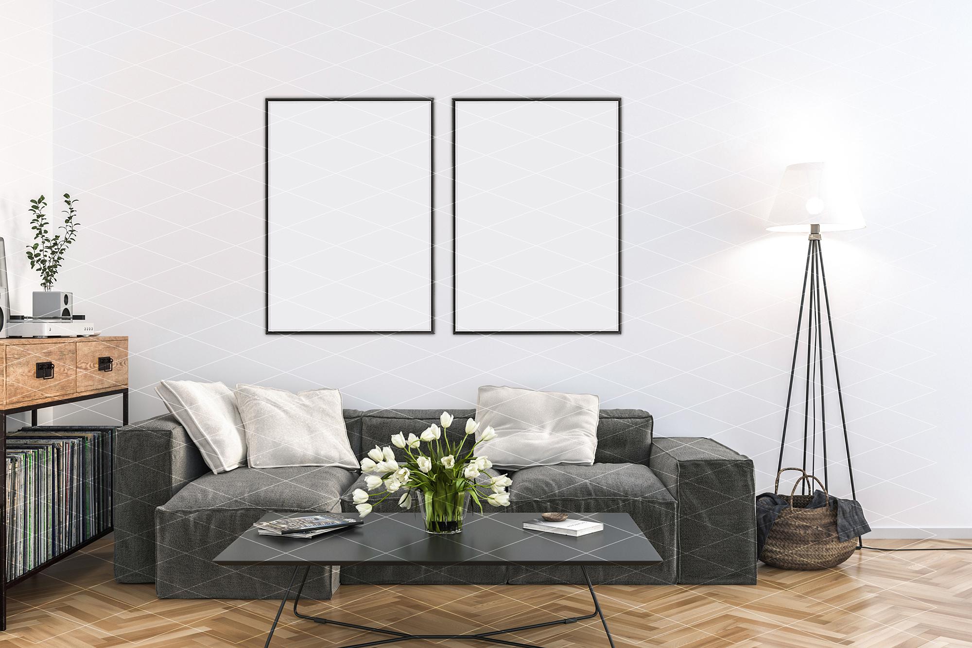 Interior mockup - artwork background - kitchen example image 2
