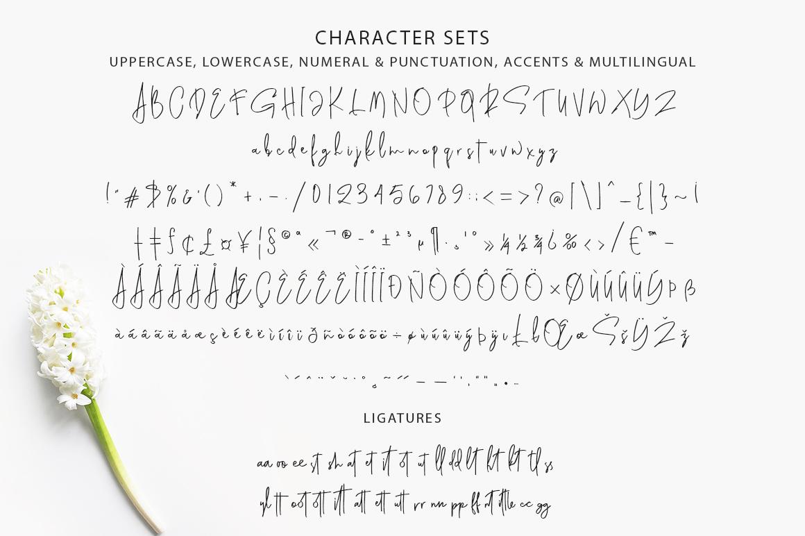 Genit - Classy Handwritten Script Font example image 10