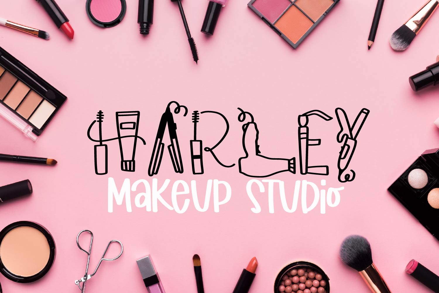 Makeup - A Beauty Supply Font perfect for Make Up Lovers example image 3