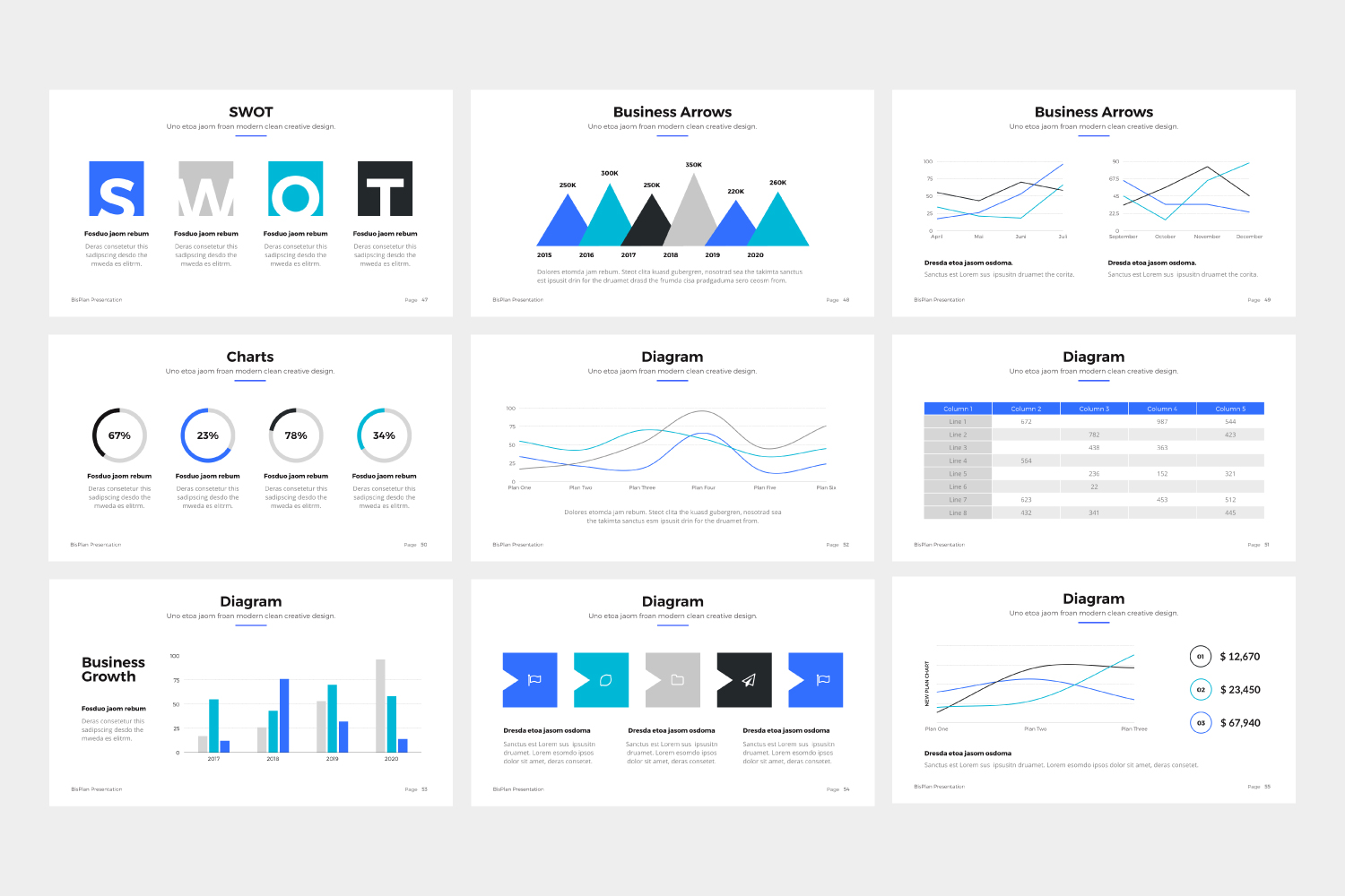 BizPro | Proposal Powerpoint Template example image 5