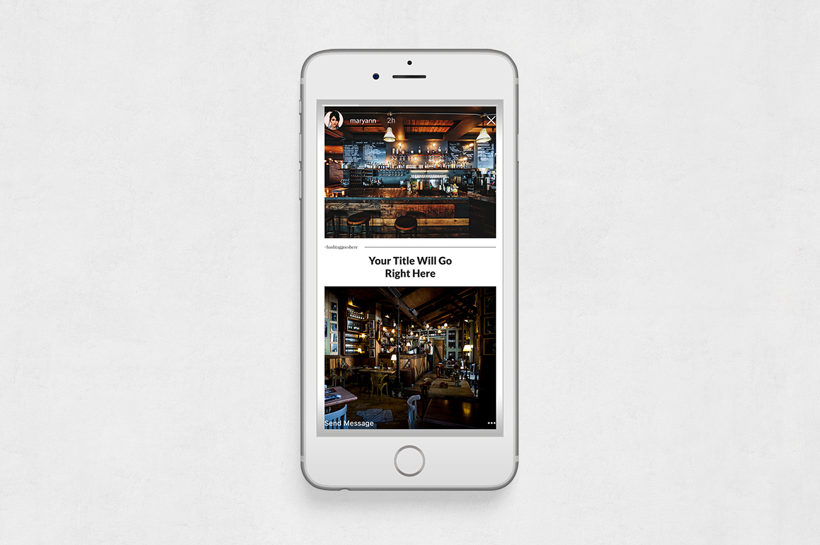 Restaurant Instagram Stories example image 6
