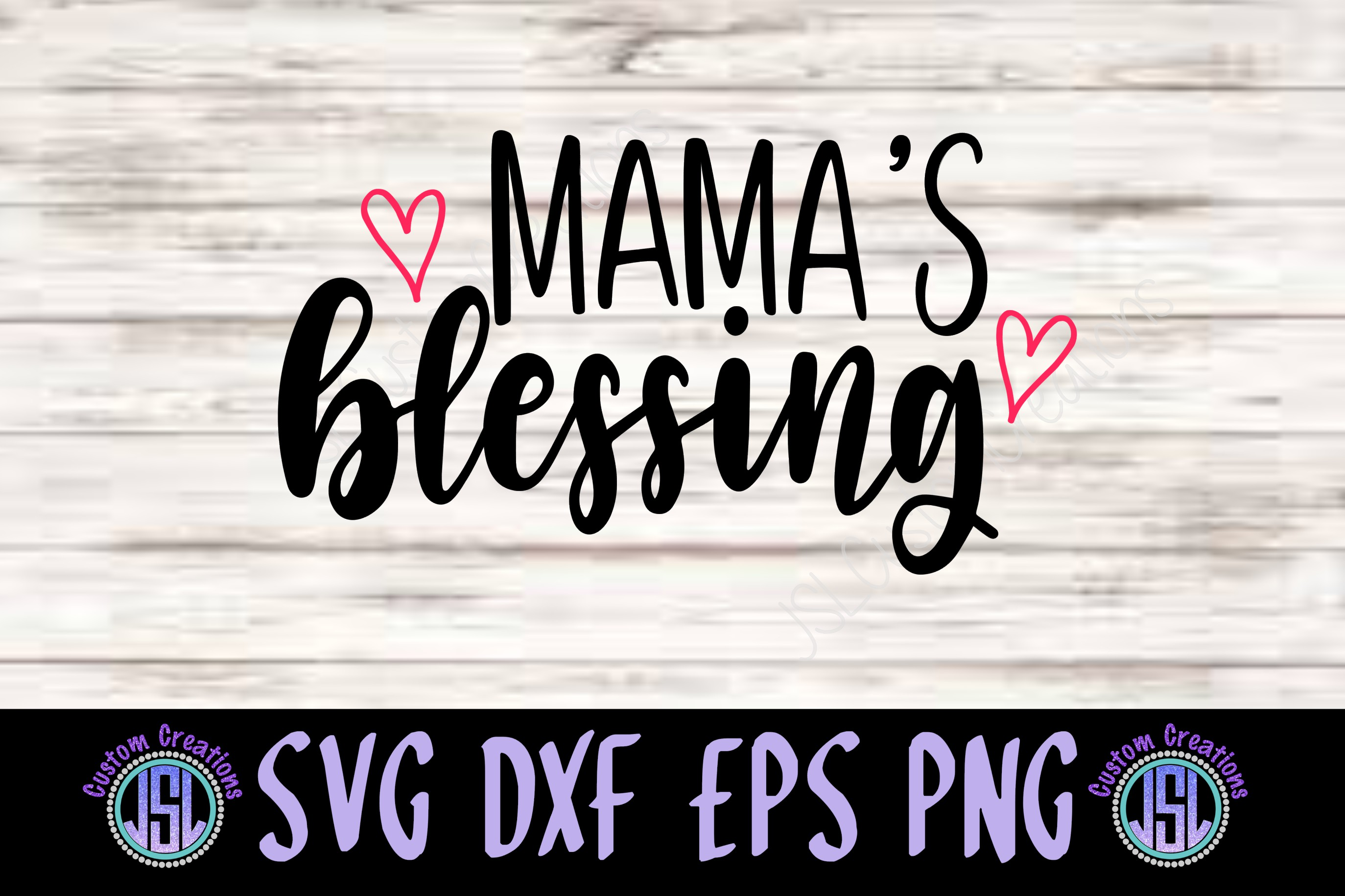 Blessed Mother Daughter Set of 2 | SVG DXF EPS PNG Files example image 4