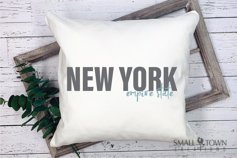 New York, Empire State - slogan, PRINT, CUT & DESIGN example image 3