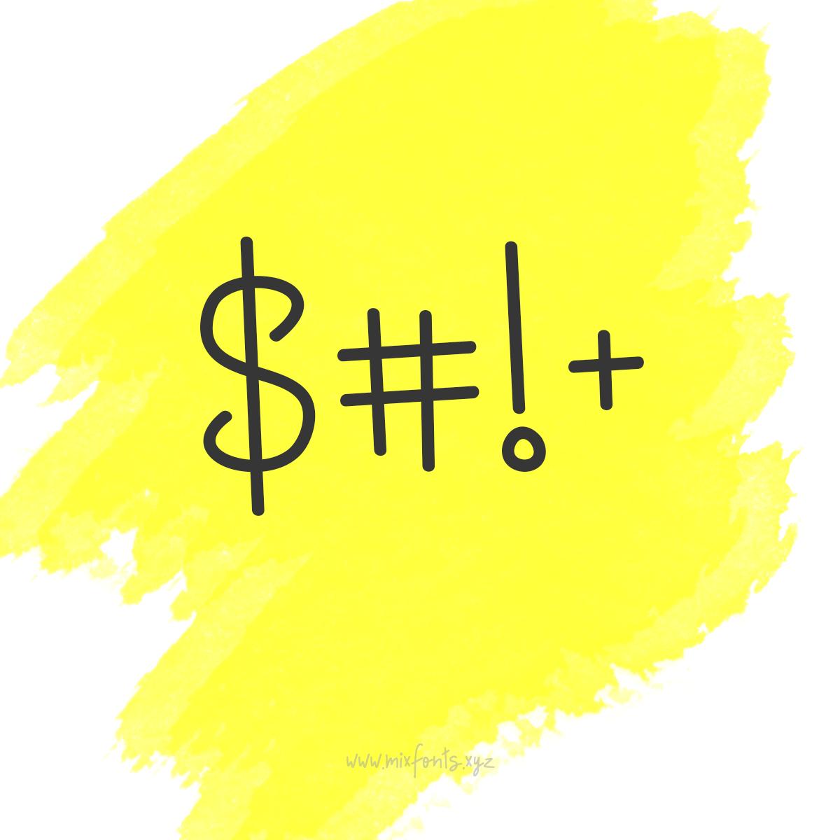 Turvy - A Unique Font to Replace Comic Sans example image 5