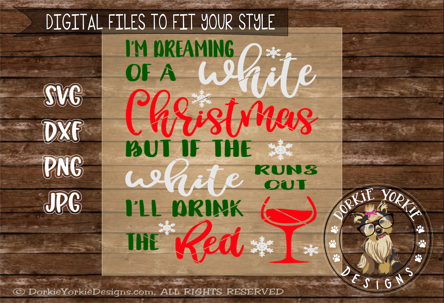 I'm dreaming of a white christmas example image 2