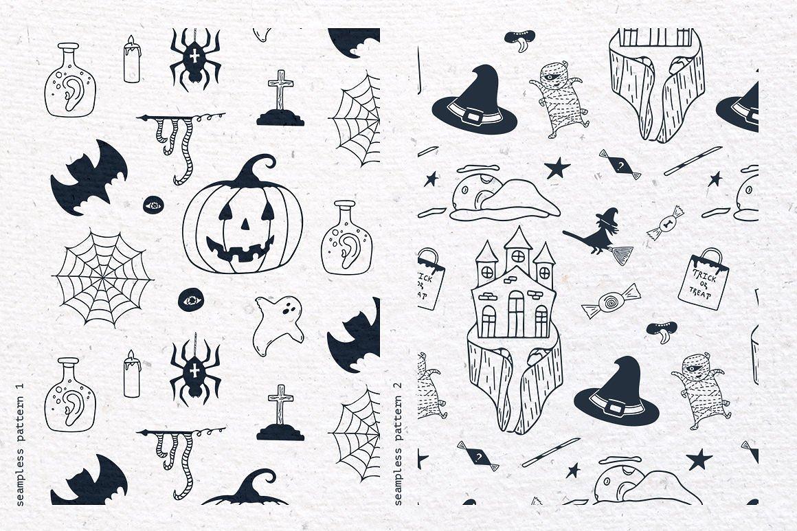Halloween Special Vector Set example image 4