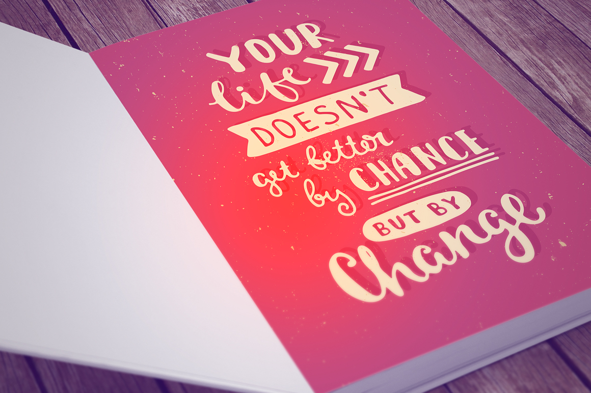 26 Hand Lettering Phrases & Posters example image 4