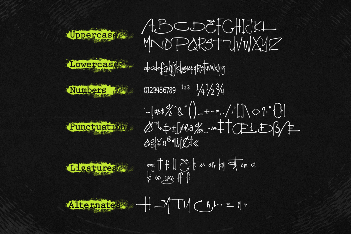 Montereal Handwriting Font example image 12