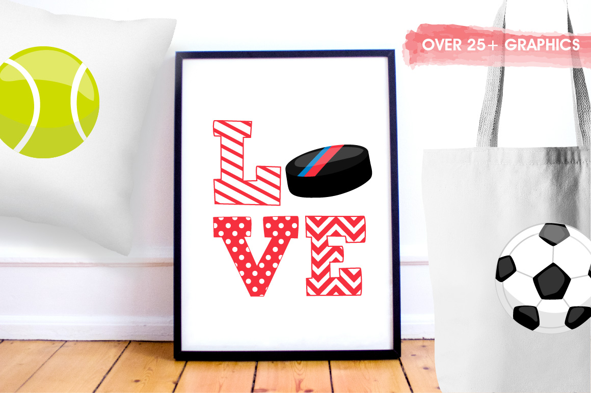 Sports love graphics and illustrations example image 5