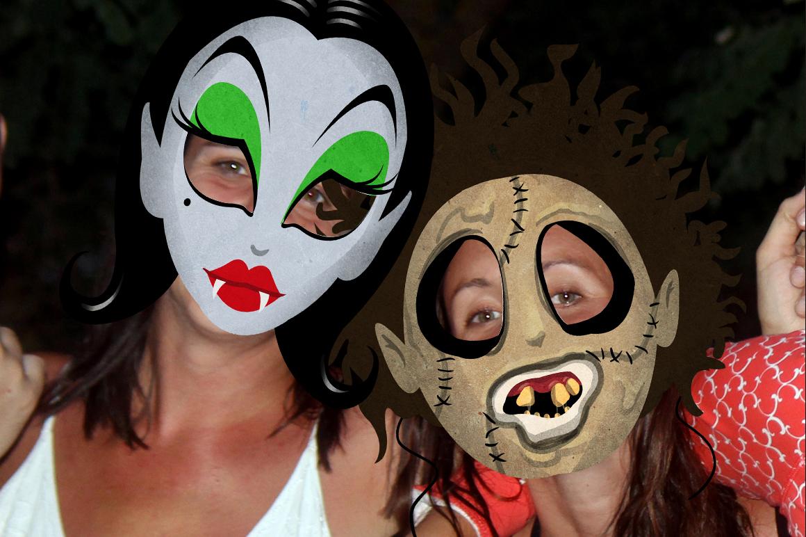 19 Classic Halloween Masks example image 6
