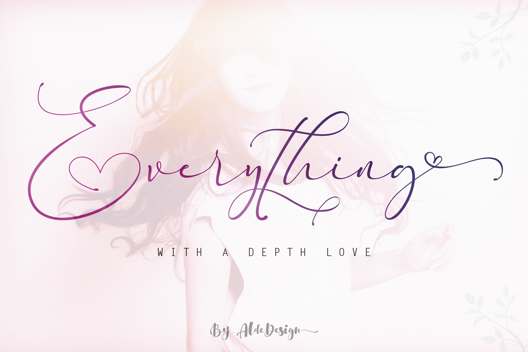 Everything Calligraphy - a Lovely Font example image 1