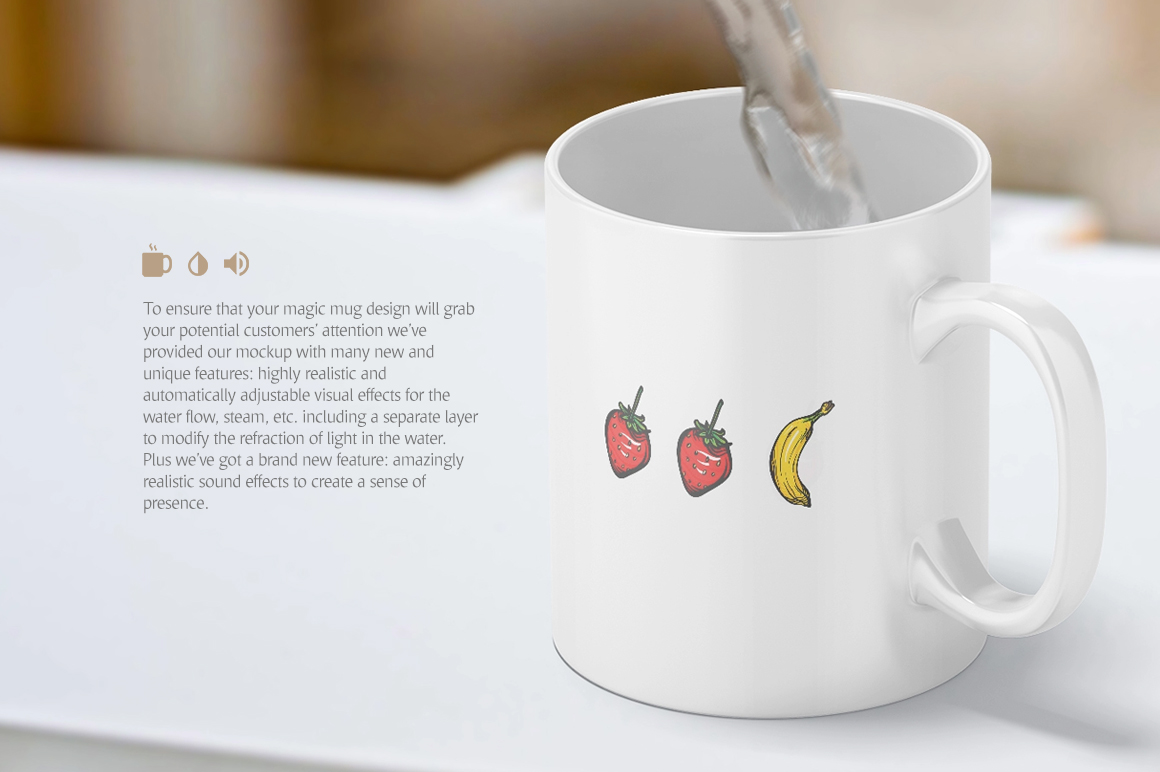 Magic Mug Animated Mock up example image 4