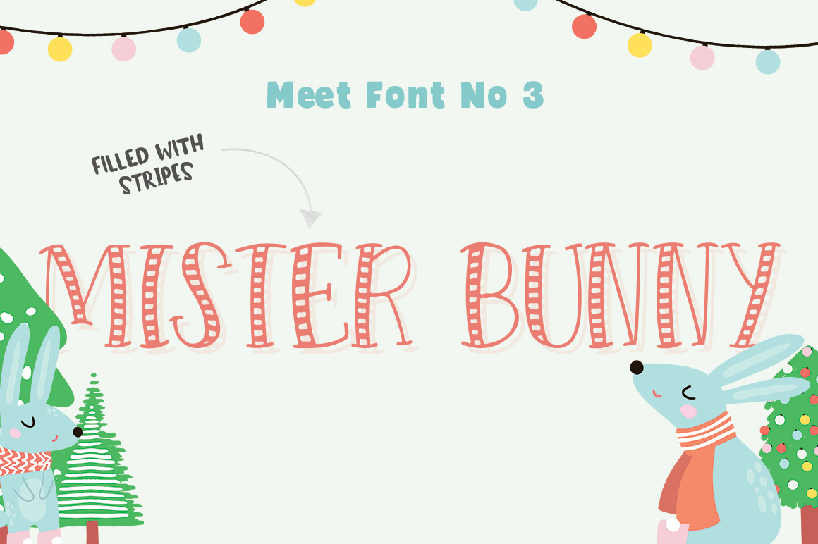 Forest Creatures Font Trio example image 4