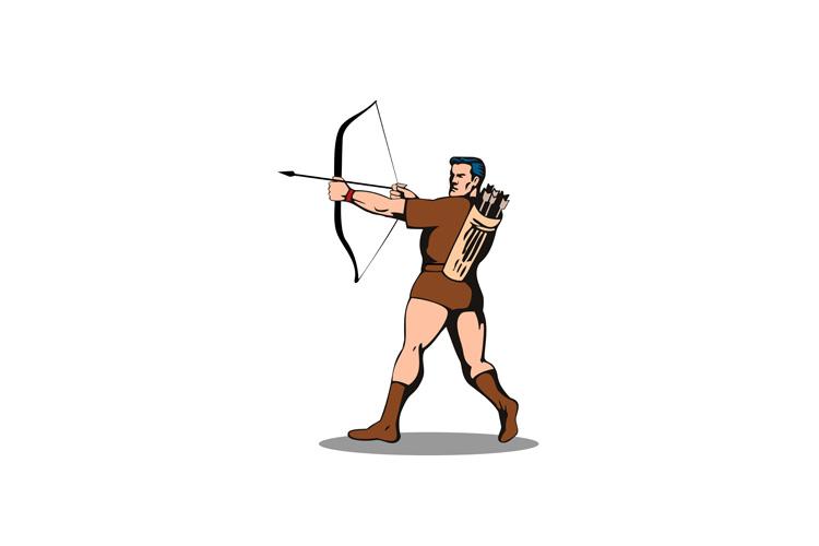 Archer Shooting Arrow example image 1