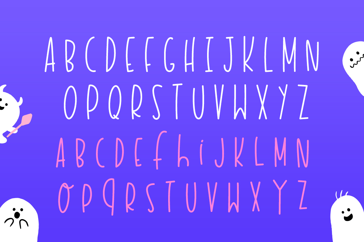 Haunted House Font example image 5