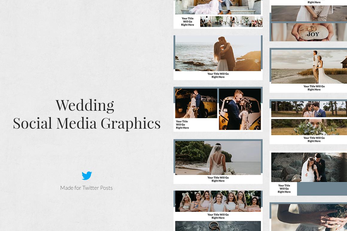 Wedding Twitter Posts example image 1