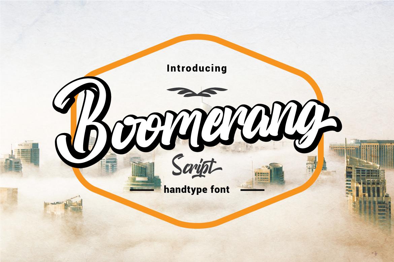 Boomerang Script example image 1