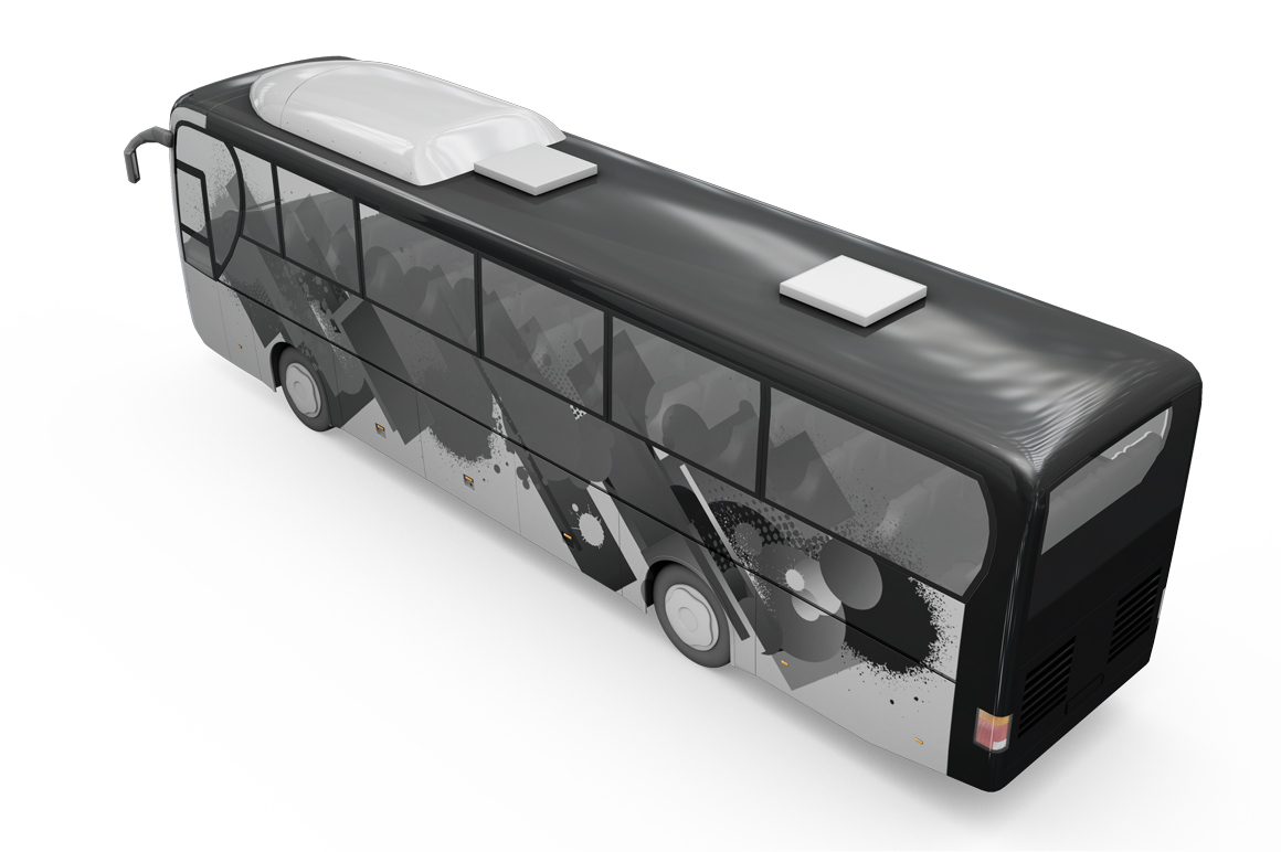 Bus Mockup example image 18