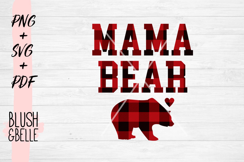 Mama Bear PNG, SVG, PDF example image 2