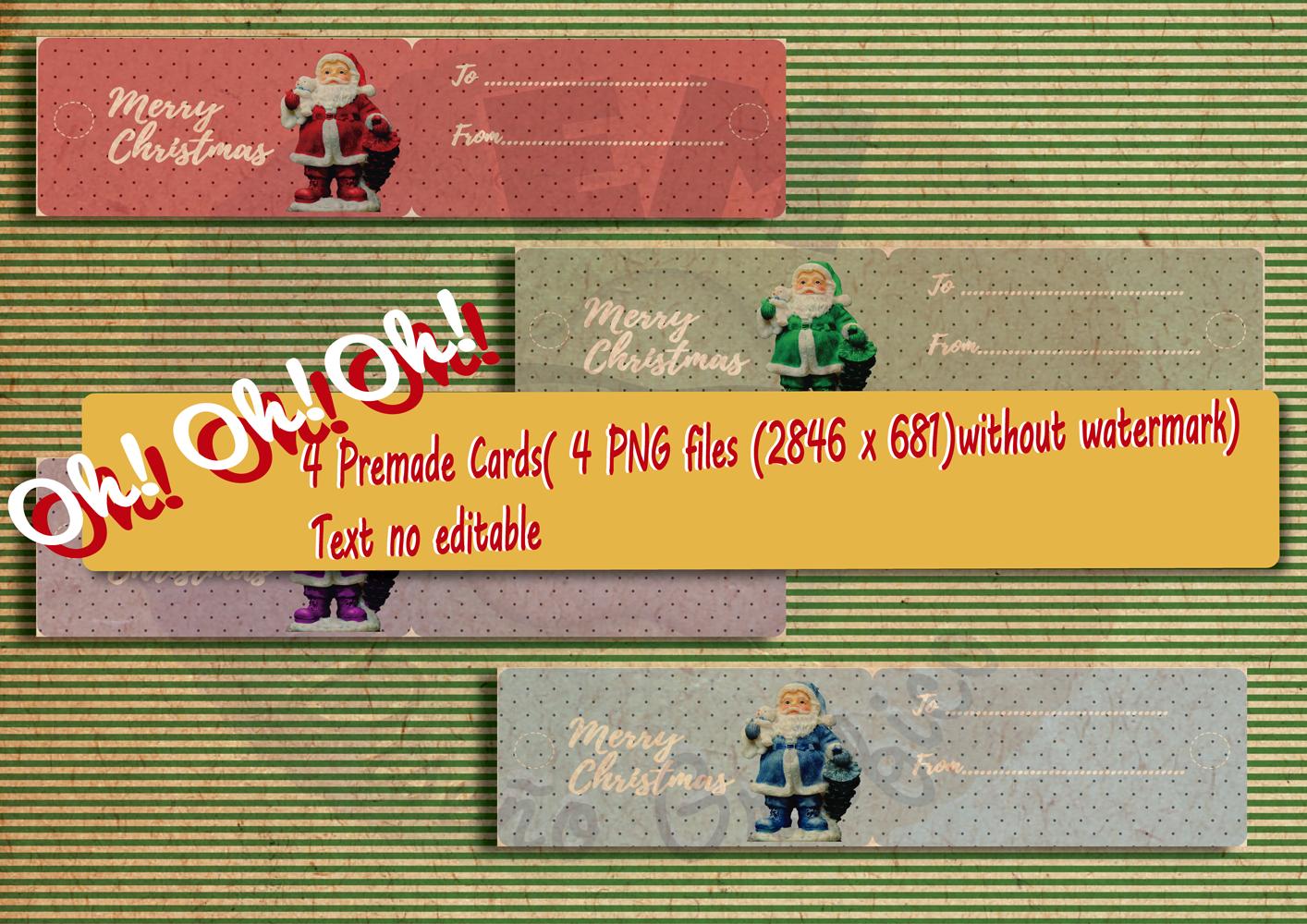 Christmas Vintage Bundle example image 5