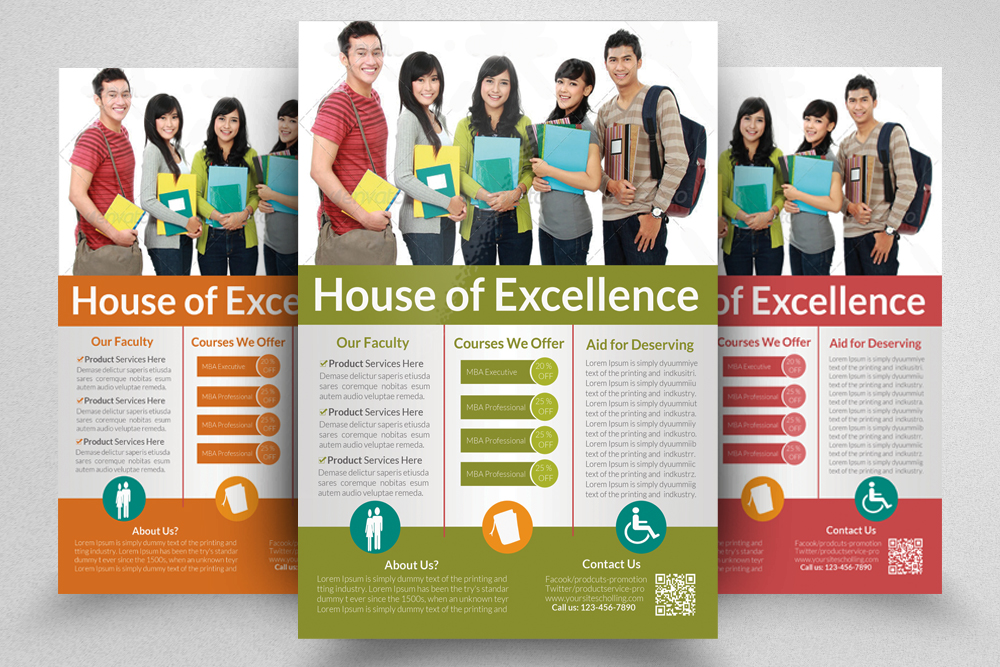 6 Education Flyers Bundle example image 3