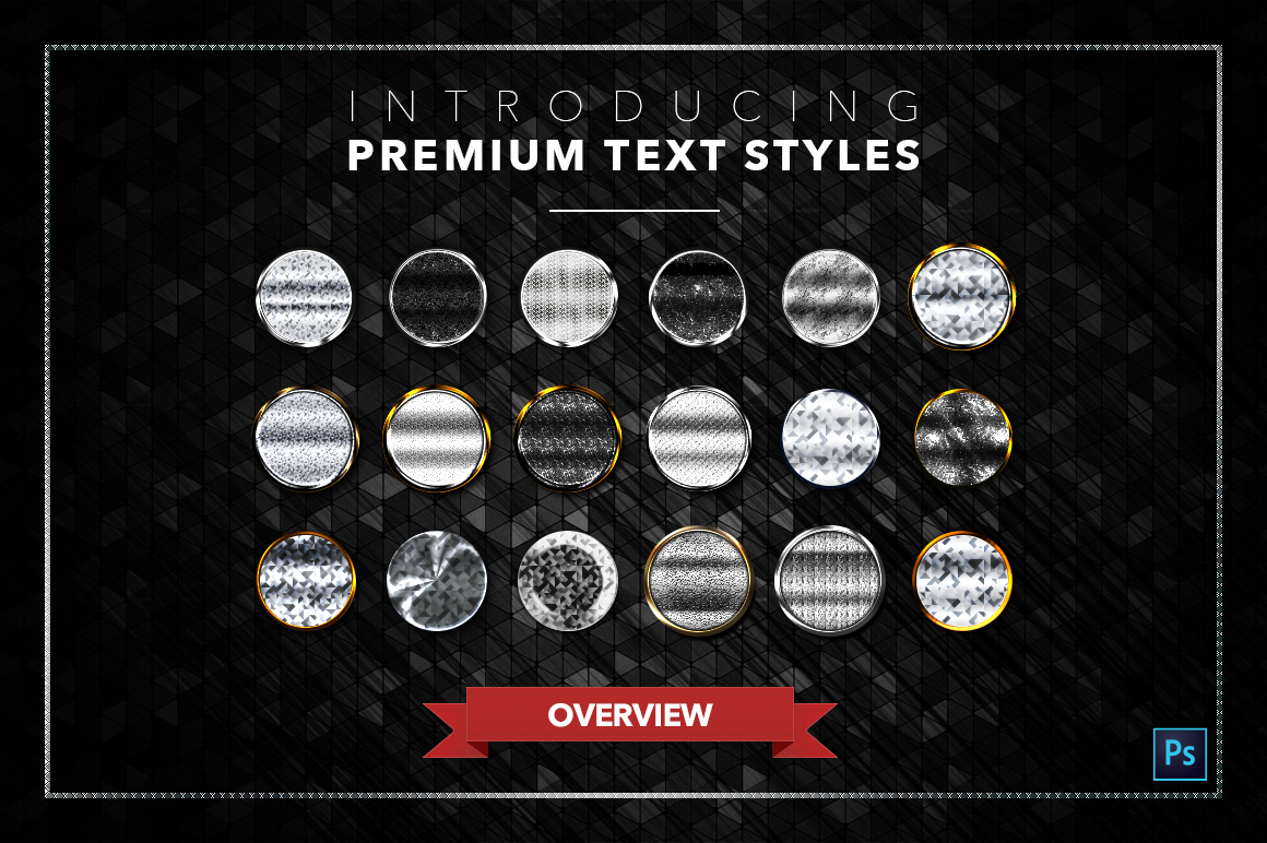 Diamond & Metal #3 - 18 Text Styles example image 21