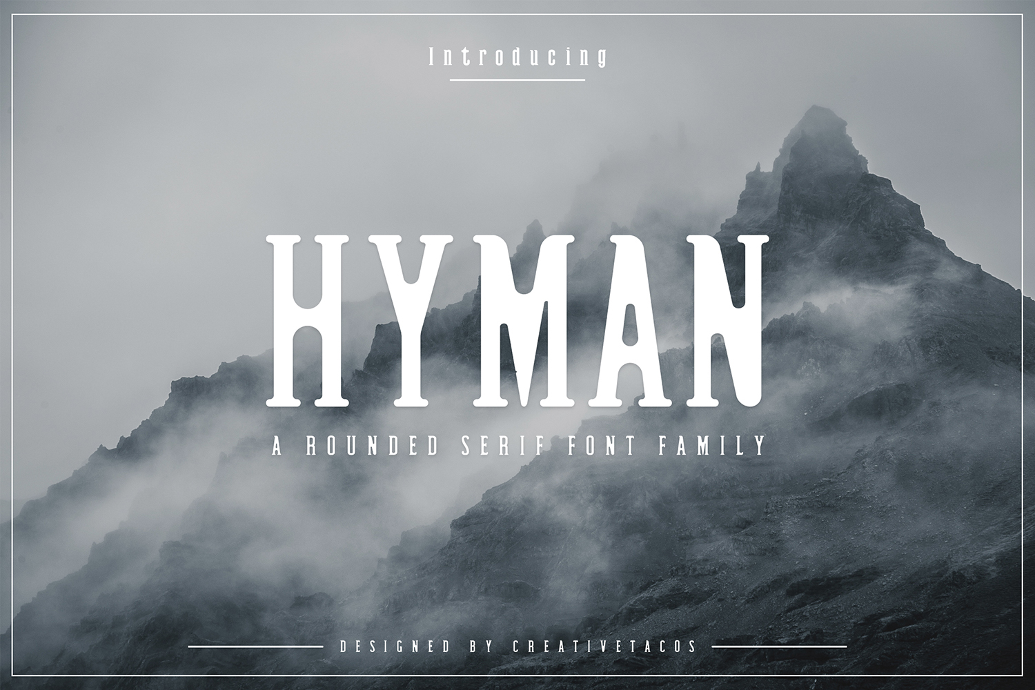 Hyman Rounded Serif Font Family example image 1