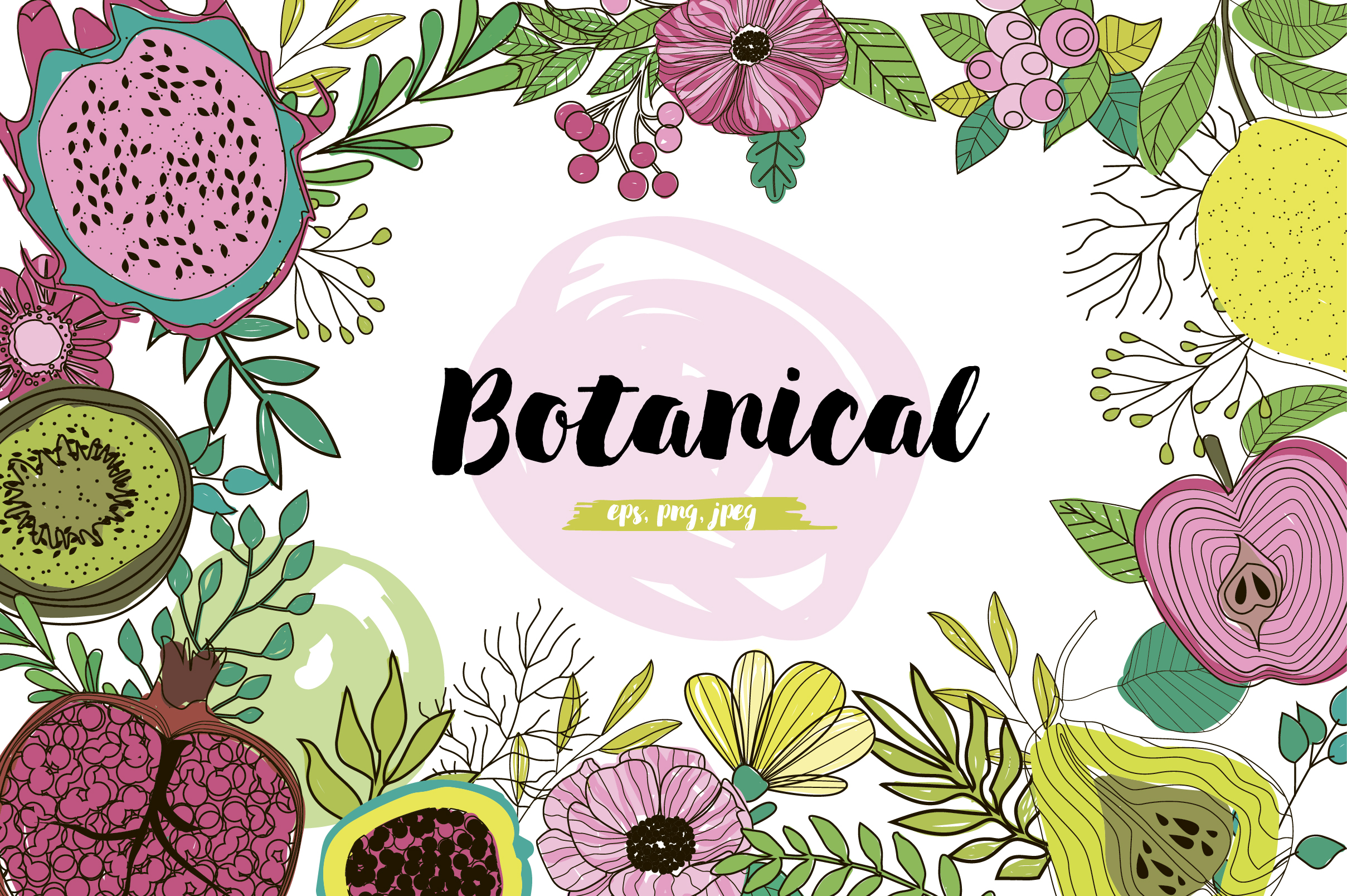 Botanical logos & illustrations example image 1