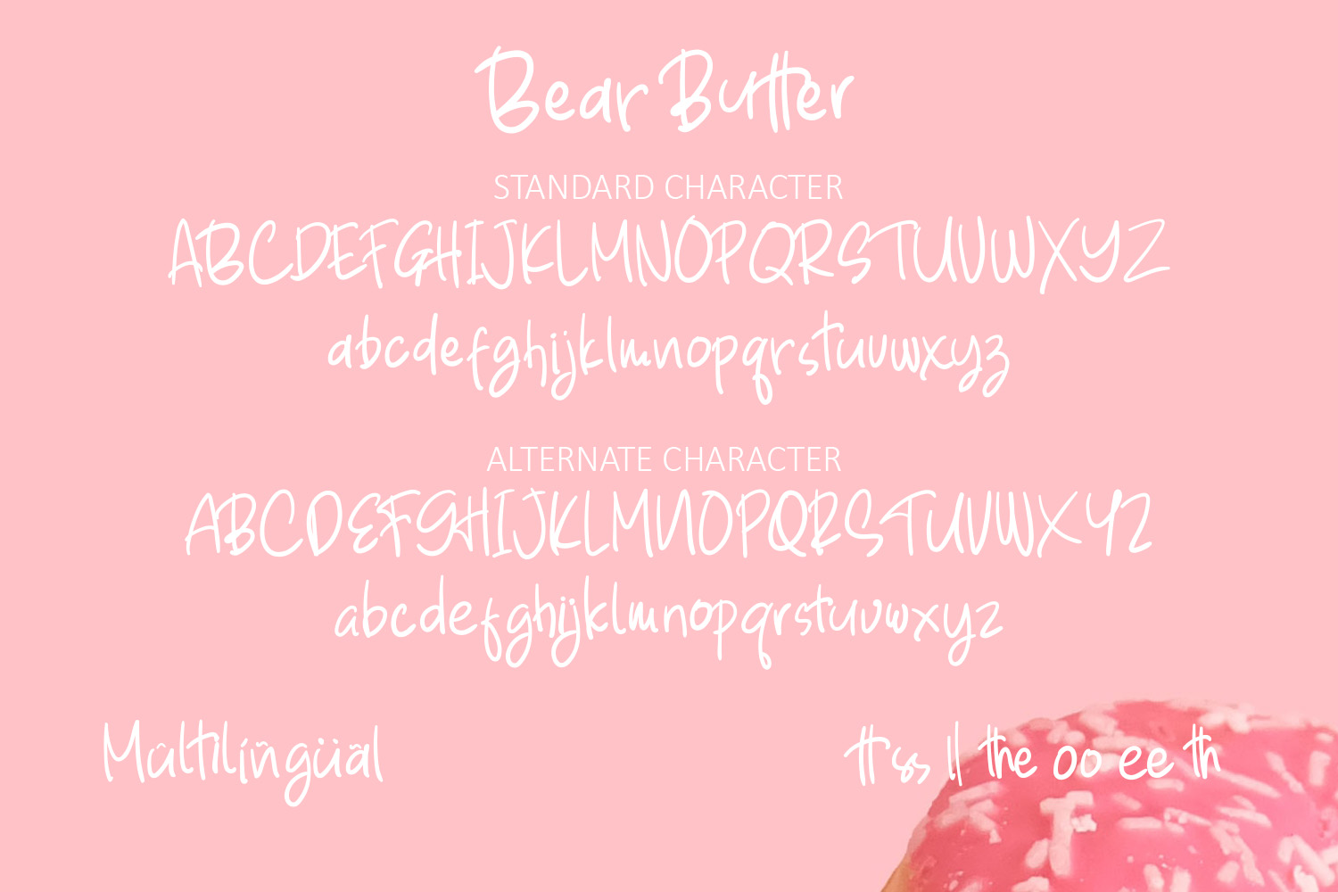 Bear Butter Font example image 5