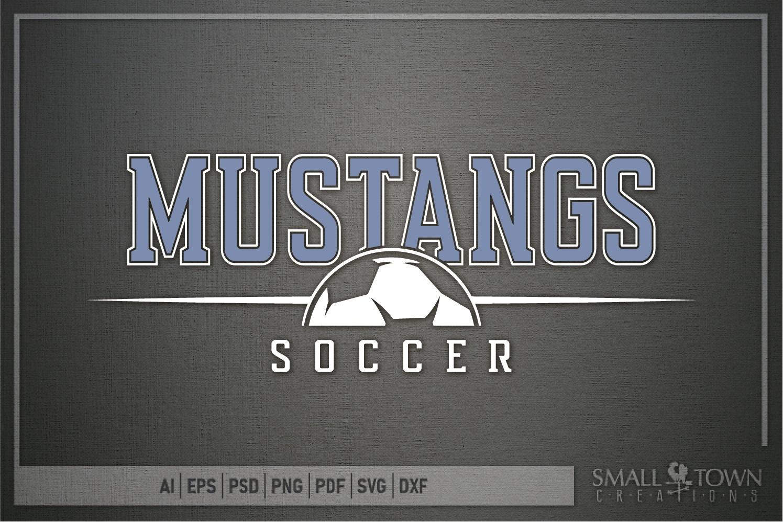 Mustang, Mustang Soccer Team, Sport, PRINT, CUT & DESIGN example image 5