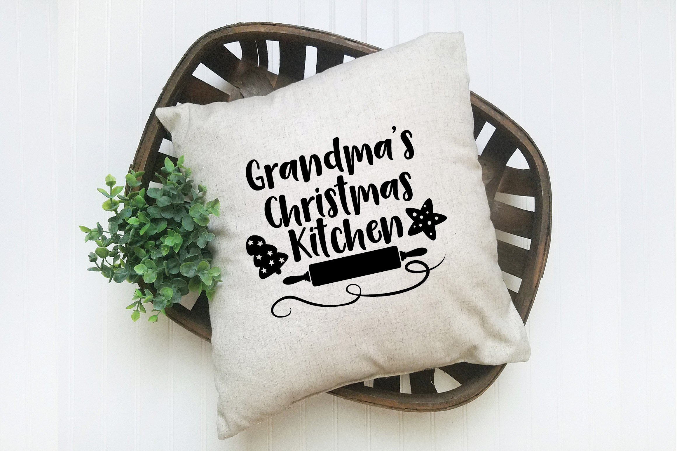Christmas SVG Cut File - Grandma's Kitchen SVG DXF PNG EPS example image 7