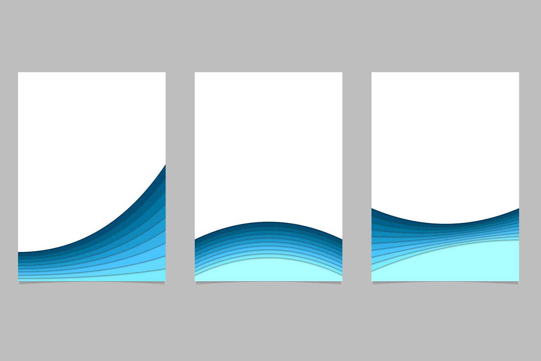 12 Brochure Templates (AI, EPS, JPG 5000x5000) example image 4