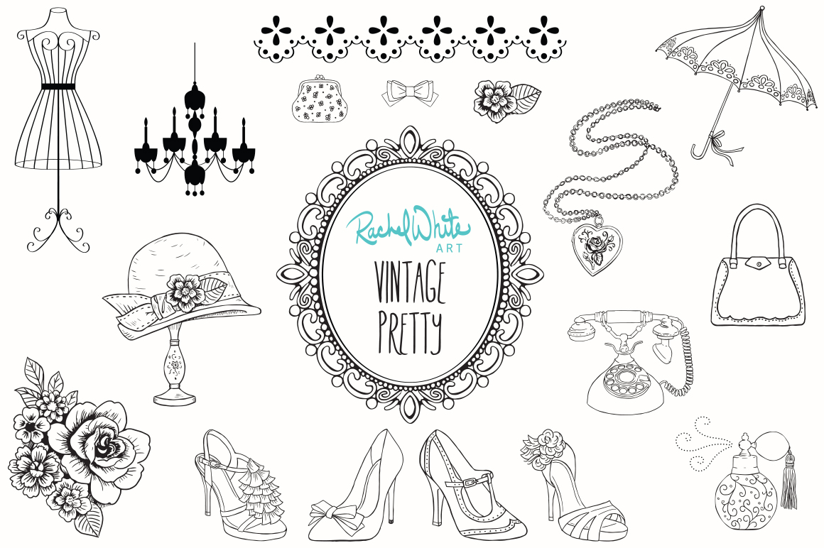 Vintage Pretty Things example image 2