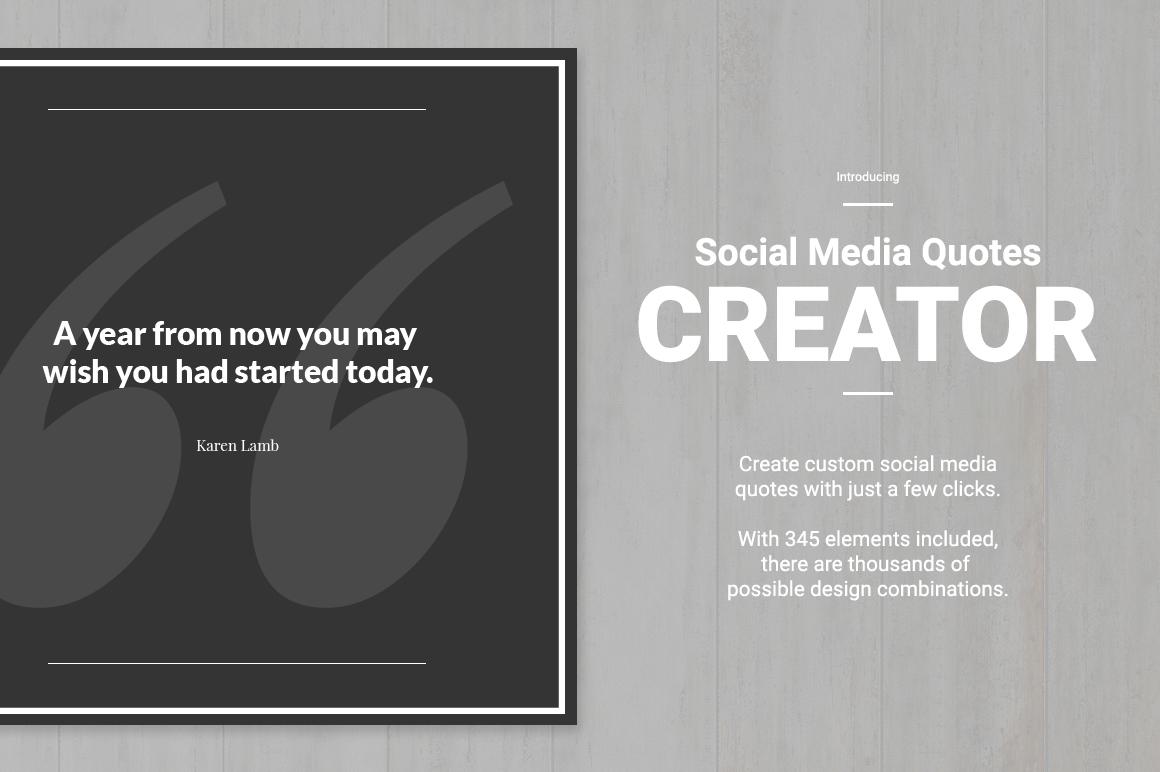Social Media Quote Creator example image 2