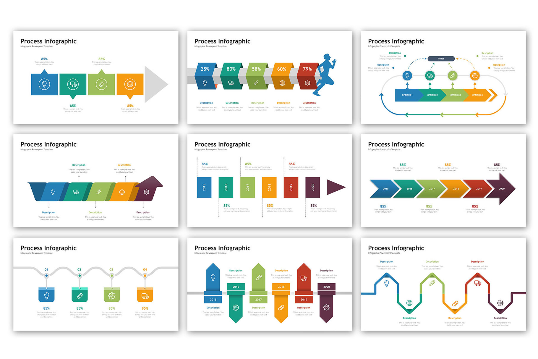 Process Presentation - Infographic Template example image 3