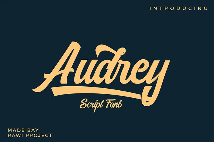 Audrey script example image 1